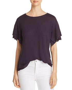 NIC and ZOE - Road Trip Ruffle Tee
