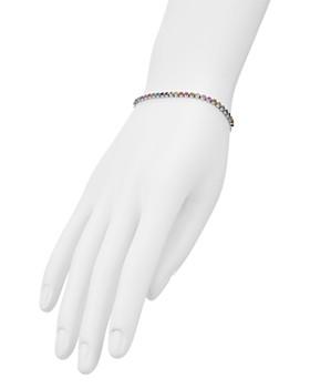 AQUA - Multicolor Stone Sterling Silver Slider Bracelet - 100% Exclusive