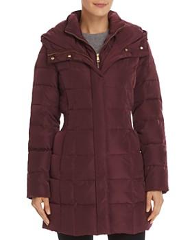 Cole Haan - Zip-Front Puffer Coat