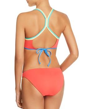 Ralph Lauren - Modern Solids Racerback Bra Bikini Top & Taylor Modern Solids Reversible Hipster Bikini Bottom