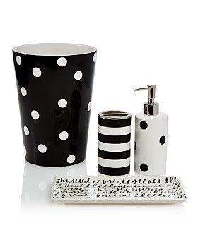 kate spade new york - Deco Dot Bath Collection