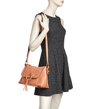 See by Chloé - Joan Small Leather & Suede Convertible Shoulder Bag