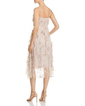 Elie Tahari - Lisandra Floral Appliqué Dress