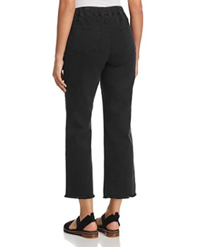 Eileen Fisher Petites - Denim Cropped Flare Pants