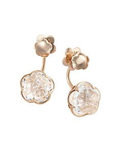 Pasquale Bruni 18K Rose Gold Bon Ton Champagne Diamond Floral Ear Jackets - Bloomingdale's_0