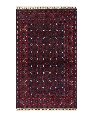 Solo Rugs Balouch Hand-Knotted Area Rug, 3'4 x 5'8
