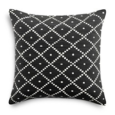 "Sky - Basket Diamond Decorative Pillow, 18"" x 18"" - 100% Exclusive"