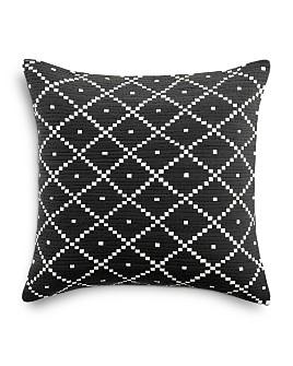 "Sky - Basket Diamond Decorative Pillow, 18"" x 18"" - 100% Exclusive"