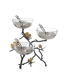 Michael Aram - Butterfly Ginkgo Triple Bowl Set