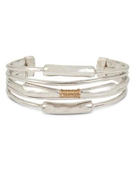 Robert Lee Morris Soho - Coil-Detail Open Cuff Bracelet