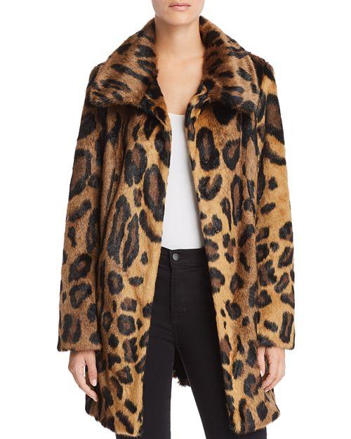 Unreal Fur - Leopard Print Furever Faux Fur Coat