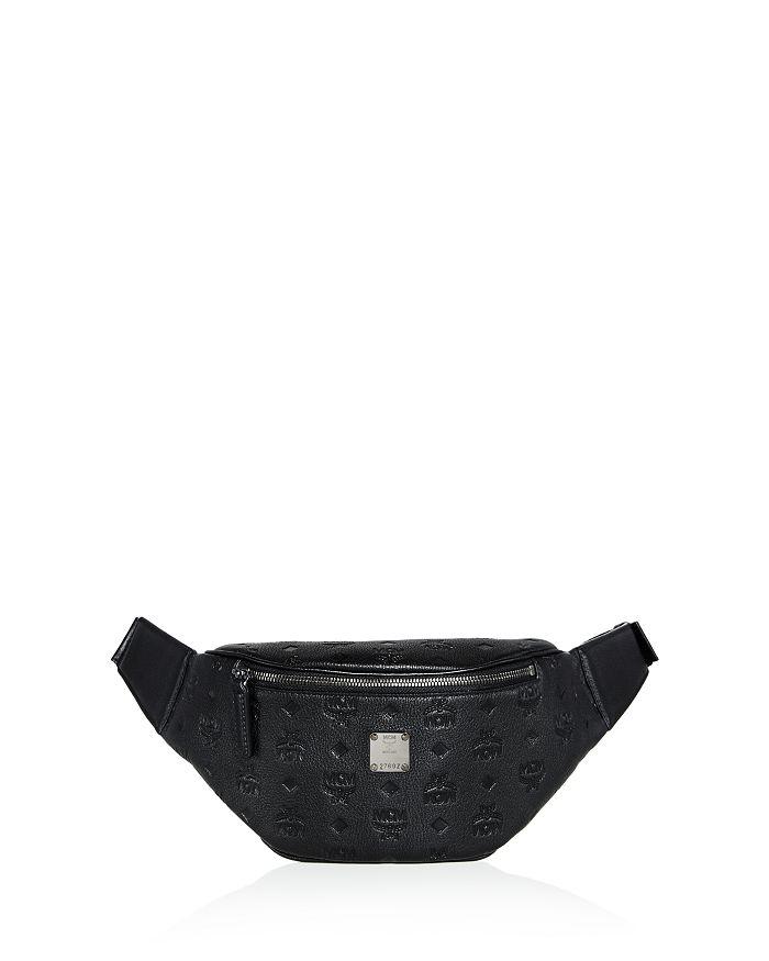 MCM - Otto Embossed Logo Monogram Leather Belt Bag