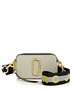MARC JACOBS - Snapshot Saffiano Leather Crossbody