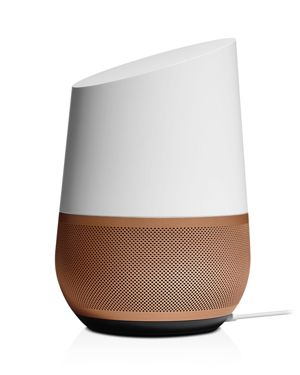 GOOGLE Home Base in Copper Brown