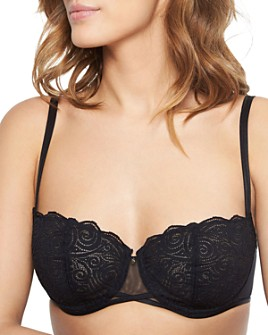 Chantelle - Pyramide Lace Unlined Demi Underwire Bra