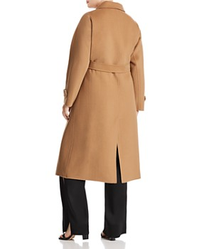 Marina Rinaldi - Trionfo Wool Trench Coat