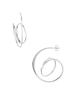 Bloomingdale's Swirling Spiral Hoop Earrings - 100% Exclusive