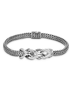 John Hardy Sterling Silver Classic Chain Interlocking Link Bracelet-Jewelry & Accessories