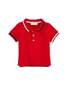 Armani Junior - Boys' Contrast-Striped Polo - Baby