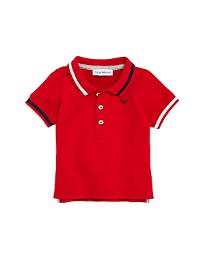 Armani Junior Boys' Contrast-Striped Polo - Baby
