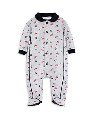 Armani Junior Boys' Logo & Star Print Footie - Baby