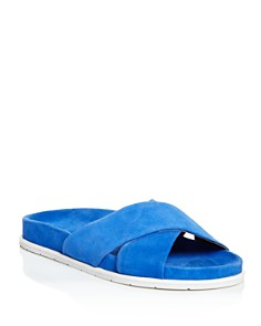 Gentle Souls by Kenneth Cole - Women's Ionela Suede Slide Sandals