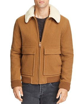 A.P.C. - Faux Shearling Jacket