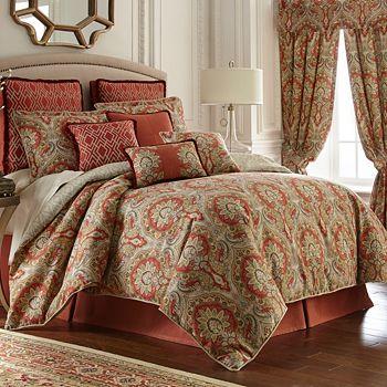 Rose Tree - Harrogate Comforter Set, Queen