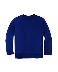 Armani Junior - Boys' Raised-Logo Terry Sweatshirt - Little Kid, Big Kid