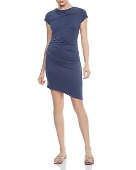 HALSTON HERITAGE - Draped Jersey Dress