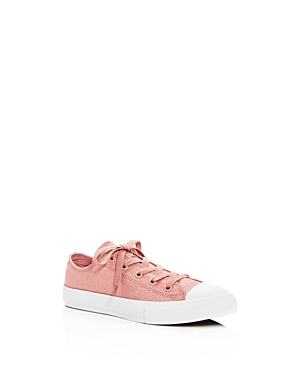Converse Girls' Chuck Taylor All Star Glitter Lace Up Sneakers - Toddler, Little Kid