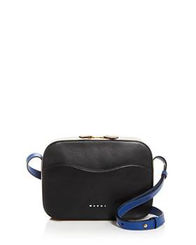 Marni - Small Color-Block Leather Camera Bag