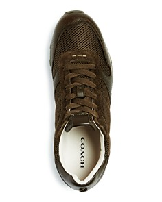 COACH - Men's C118 Lace Up Sneakers