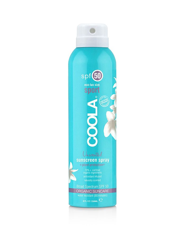 Coola ECO-LUX SPORT CONTINUOUS SPRAY SUNSCREEN SPF 50 UNSCENTED