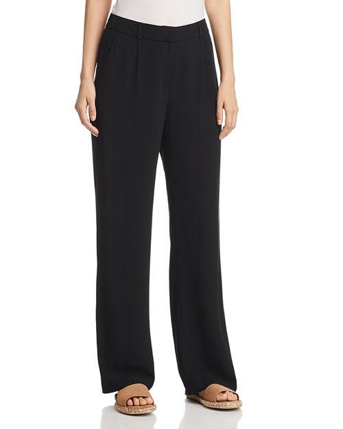 Eileen Fisher - Pleated Wide-Leg Pants