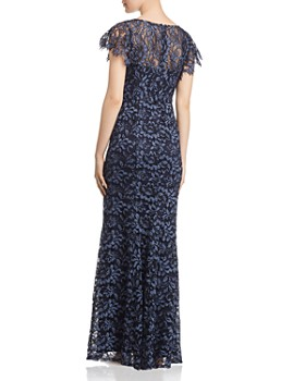 Decode 1.8 - Flutter-Sleeve Lace Gown