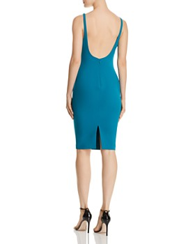 LIKELY - Gabrielle Slit-Hem Sheath Dress