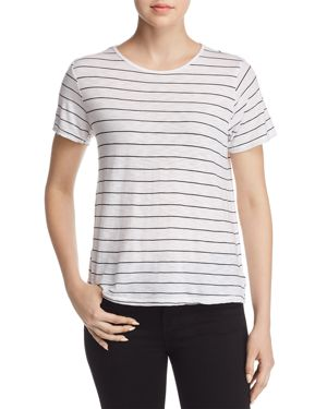 MICHELLE BY COMUNE PENDERGRASS STRIPED TEE
