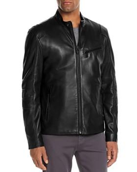 Andrew Marc - Weston Leather Moto Jacket