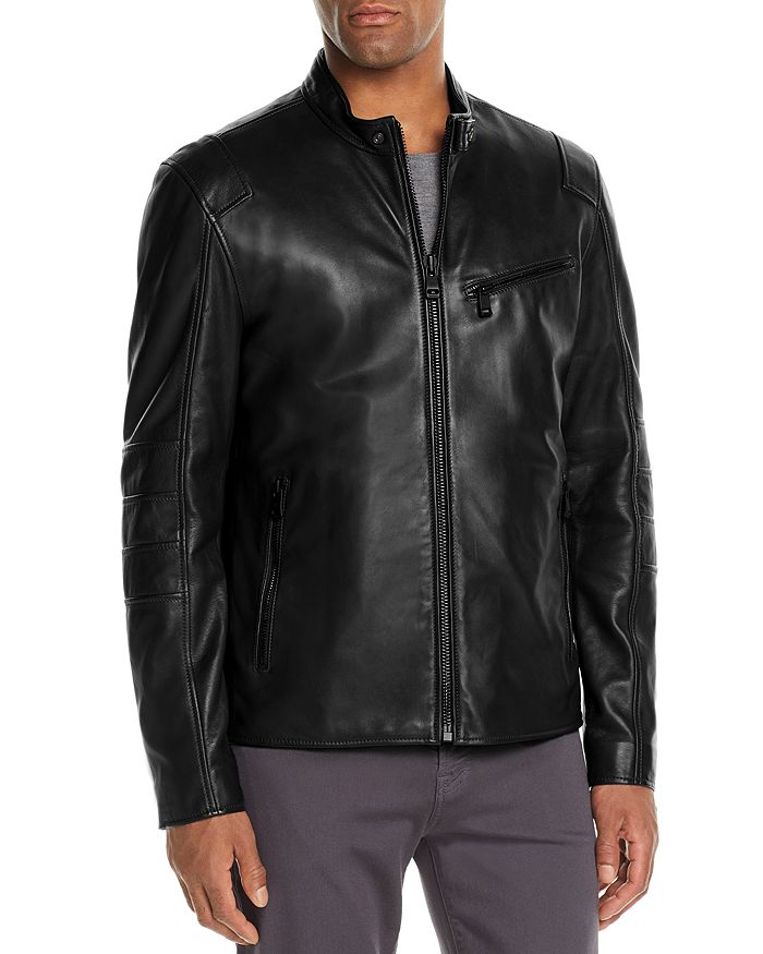 Andrew Marc - Weston Leather Moto Jacket
