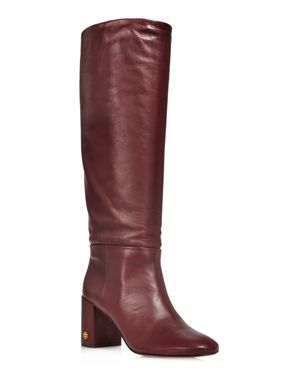WOMEN'S BROOKE SLOUCHY LEATHER TALL BOOTS