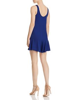 Amanda Uprichard - Soren Flounced Mini Shift Dress