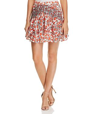 Iro. jeans Secrets Printed Mini Skirt