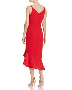 AQUA - High/Low Flounced Dress - 100% Exclusive