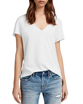 ALLSAINTS - Emelyn Tonic Raw-Edge Tee