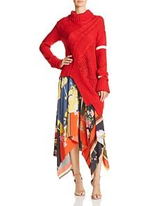 Preen Line - Printed Wrap Skirt
