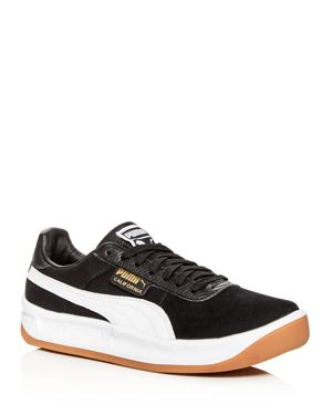 Puma Men's California Casual Leather & Suede Lace-Up Sneakers
