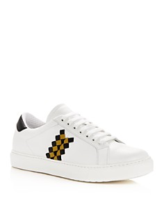 Bottega Veneta - Men's Leather Lace Up Sneakers