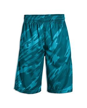 Under Armour - Boys' Geo Print Sun Protection Shorts - Little Kid, Big Kid