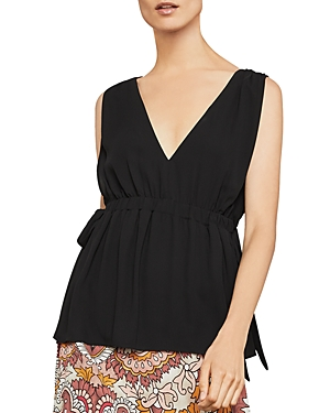 Bcbgmaxazria Sleeveless Side-Tie Top